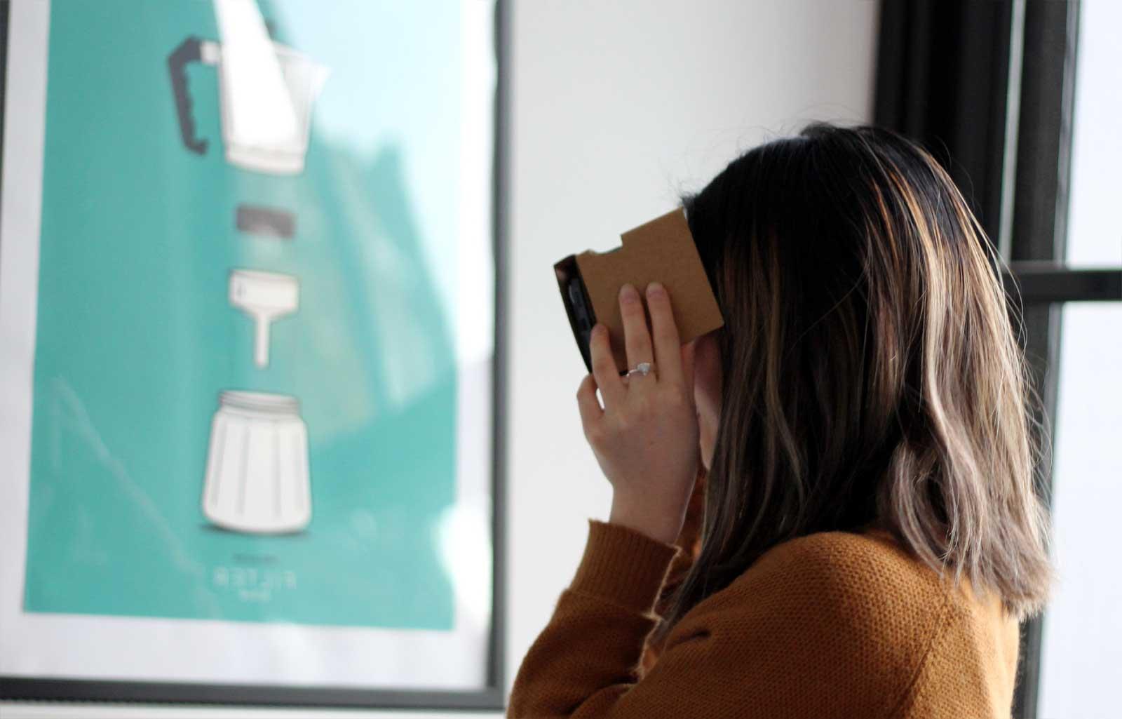 VR Brille für das iPhone